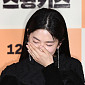 [BZ포토] 박혜수, '입술박치기' 질문에 빵 터졌네