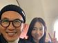 오지혜-구준엽, 센다이 여행...비행기 안에서 러브 투 샷