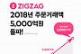 여성쇼핑몰 모음 서비스 '지그재그', 올해 거래액 5000억 돌파