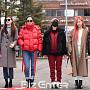 에이핑크, 멤버별 개성 넘치는 출근길 패션