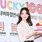 [BZ포토] 윤아, 100일 축하하는 미소