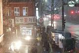 퇴근길 '눈 비상' 서울 시내 곳곳 많은 눈 내려…교통혼잡 예상 '빙판 주의'