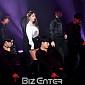 [BZ포토] 홍진영, 10년차 가수의 노련한 무대