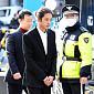 [BZ포토] 피의자 신분으로 경찰 출석한 정준영