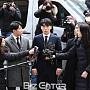 """'성접대 의혹' 승리, 경찰 출석 """"진실된 답변으로..."""