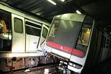 홍콩, 지하철 충돌 사고로 교통대란 직면