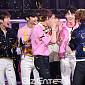 [BZ포토] TXT, 쇼챔 1위 영광의 순간