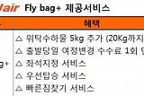 제주항공, 부가 서비스 포함 'Fly bag+' 할인