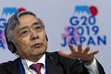 """일본은행 총재 """"글로벌 경제 최대 위협은 보호무역주의"""""""