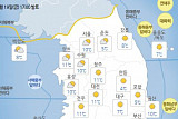 [내일날씨] 전국 낮엔 '따뜻' 밤엔 '쌀쌀'…미세먼지 농도 낮아