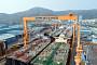 대우조선해양, 세계 최대 규모 1도크에서 VLCC 4척 동시 건조