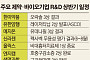 한미·유한·신라젠…제약·바이오 업계, 상반기 글로벌 성과 '박차'