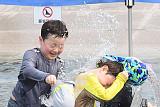 [포토] 초여름 더위, 물놀이하는 어린이들