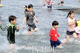 [포토] 초여름 날씨, 물놀이가 최고