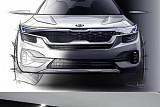 기아차 차세대 SUV 색깔 드러났다…인도 전략형 SUV 렌더링 공개