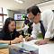 유영민 과기정통부 장관, 양평중학교에서 소프트웨어 수업 체험