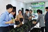 '부부의 날' 챙긴 삼천리, 임직원에 꽃 선물…'플라워 데이' 행사 진행