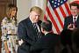 일본 국빈방문한 트럼프, 日재계 수장들과 만찬서 립서비스 일색
