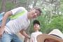 황혜영♥김경록, 쌍둥이들과 가족사진…엄마아빠 쏙 빼닮은 붕어빵 형제