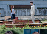 '미스터 기간제' 윤균상, '악행' 아이돌 김명지와 옥상 비밀 접선
