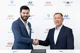 현대차 '레이싱 전기차' 공개 예고…정의선 '전기차 투자' 성과