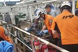 전남 영암 조선소서 폭발 사고…용접하던 노동자 2명 중상