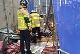 속초 공사현장 승강기 15층서 추락…3명 사망 추정·2명 부상
