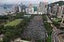 홍콩 '송환법 반대' 대규모 집회...中, 선전에 무장병력 배치