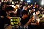 [포토] 서울대에서 열린 '조국 교수 STOP' 촛불집회