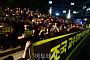 [포토] '조국 STOP' 촛불 든 참가자들