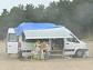 '캠핑클럽' 핑클, 난생처음 우천 캠핑...'블루레인'으로 흥 충전