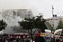 동대문 제일평화시장 화재, 잔불 정리하다 다시 번져…일대 연기로 뒤덮여