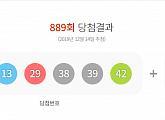 로또889회당첨번호 공개...1등 10명 21억898만원