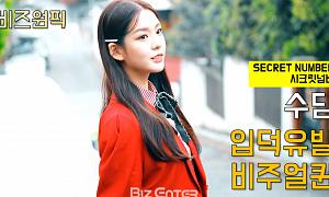 시크릿넘버(SECRET NUMBER) 수담, 입덕유발 비주얼 퀸…유튜브 '떰즈' 공개
