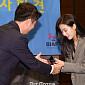[비즈 포토] 'BIAF2020' 홍보대사 위촉되는 이나은