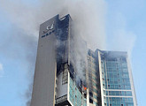 울산 주상복합 아파트 화재, 13시간 30분 만에 초진 완료…경찰, 전담팀 구성 수사 착수