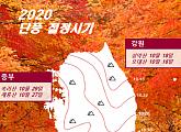 '2020년 단풍시기' 설악산 18일·한라산 29일 절정 예상