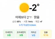 [오늘의 날씨] 빙판길 주의, 제주는 밤 사이 눈 또는 비
