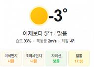[오늘의 날씨] 출근길 빙판과 안개 주의