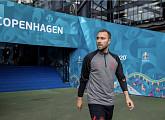 """에릭센, '유로2020' 덴마크 VS 핀란드 경기 도중 쓰러져…""""의식 회복 후 후송"""""""