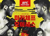 '마카체프vs모이세스'ㆍ'레노vs테이트' 등 UFC 중계 스포티비 나우ㆍ스포티비 온
