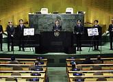 """방탄소년단(BTS), UN '지속가능발전목표(SDG) 모멘트' 인터뷰 """"미래세대 이야기 전달하려 노력"""""""