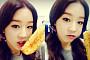 박보람, 트위터 사진 화제…입술을 살짝 열고