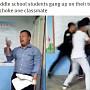 교실서 학생에게 집단 폭행당한 교사