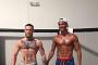 '축구스타' 호날두VS'UFC' 맥그리거, 근육 대결 승자는?