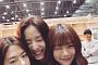 """'청춘시대' 류화영, 한승연-박혜수와 촬영장 인증…""""이것이 미녀삼총사?"""""""
