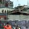 진주 건물 지붕 붕괴…14시간 생존사투, 인명 구조견 맹활약