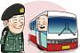 """[온라인 토닥토닥] 군인에게 선행 베푼 고속버스 기사 """"훌륭한 기사님이네"""""""
