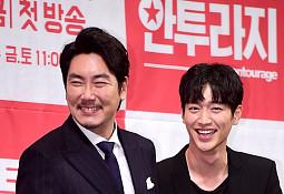 tvN '안투라지'로 한국 연예계를 생생하게 느껴보자