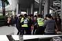 '최순실 파문' 속 박근혜 대통령 부산 방문 강행…분노한 대학생 기습시위